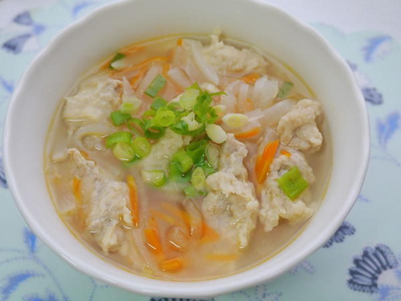蘿蔔肉羹湯