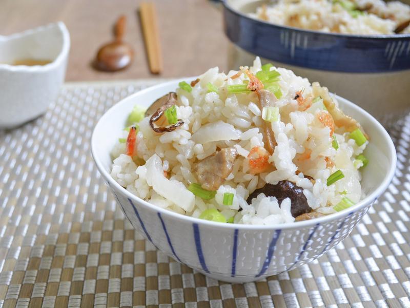 蘿蔔櫻花蝦炊飯【烹大師時食饗宴】