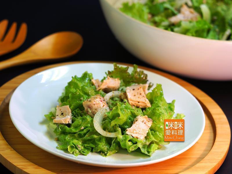 Mimi♥烤鮭魚沙拉
