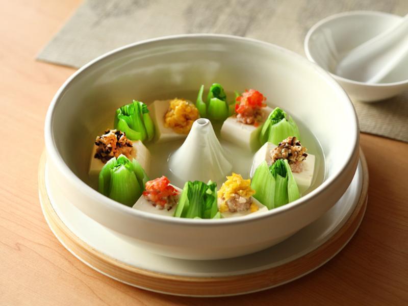 JIA Inc.蒸缽 五彩時蔬鮮肉蒸豆腐