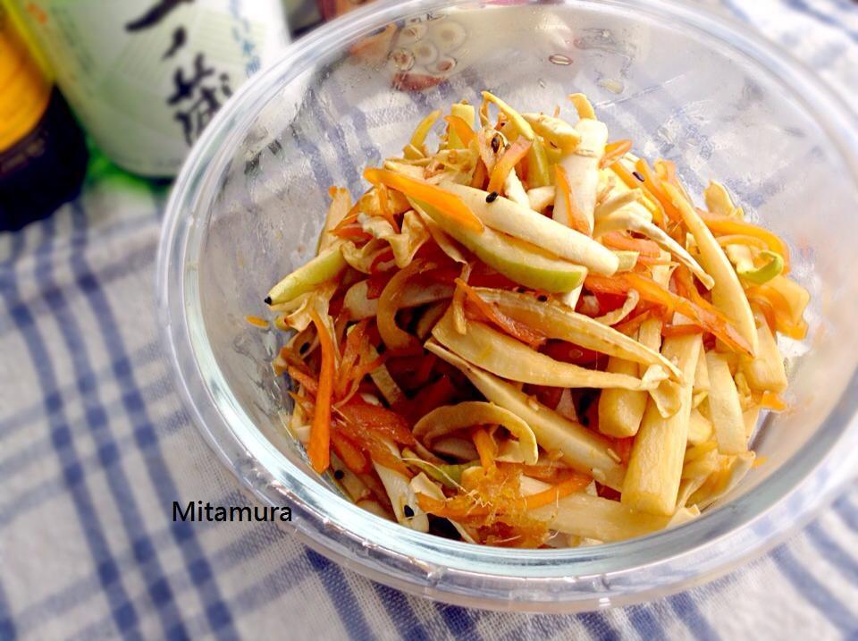 日式炒蘿蔔皮