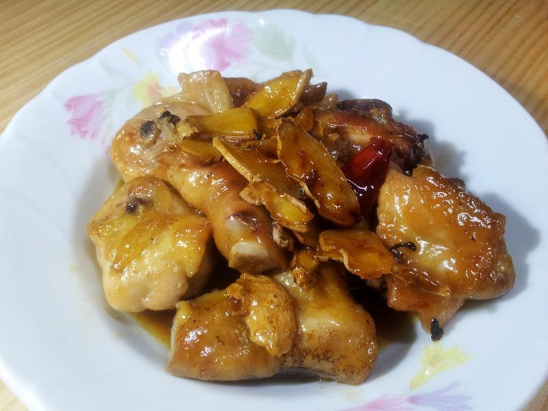配飯好菜--苦茶油炒雞肉--