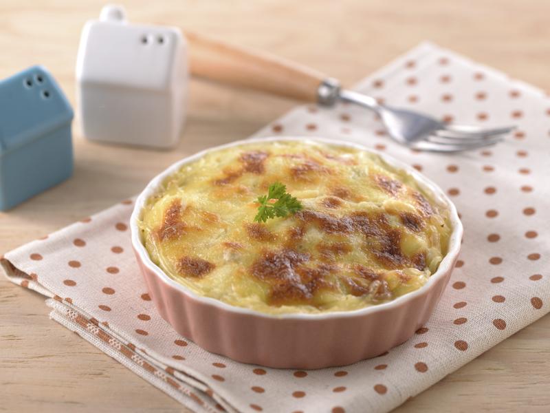 第三道實作-奶油起司焗白菜
