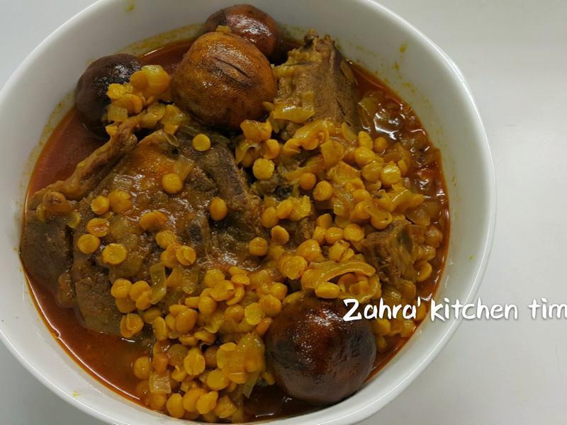 伊朗美食 Khoresh-Gheimeh