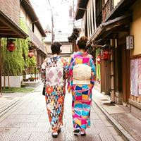 台妹御彩在京都